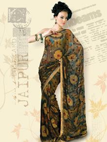 高清印度妇女纱丽