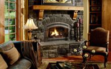 高清晰壁炉图片