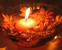 蜡烛烛光摇曳高清壁纸